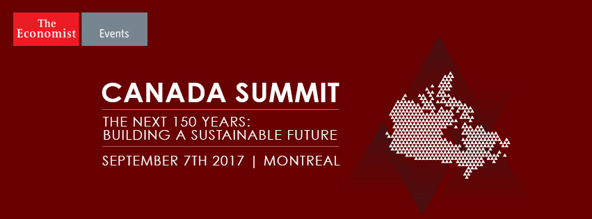 Join us at The Economist's Canada Summit (Sept 7th, Montreal)